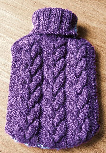 Knitting Patterns For Hot Water Bottle Covers : 1000+ ideas about Hot Water Bottles on Pinterest Bottle ...