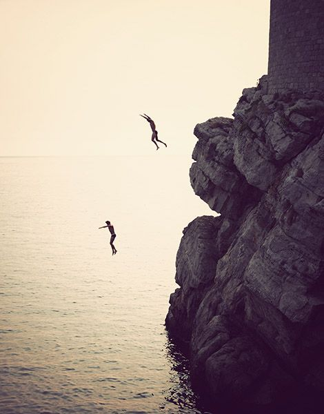 cliff jumping | Dubrovnik, Croatia Image by Keeper Creative - keepercreative.com.au