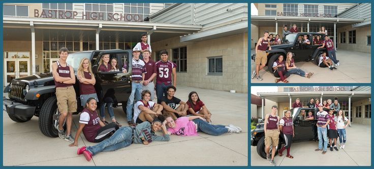 Bastrop High School students enrolled in various sports programs were selected to represent their school for a photo that will be used on a raffle ticket for a chance to win this Jeep from Benny Boyd's! I had a blast photographing these Bastrop high school students! One student from each sport was selected by their …