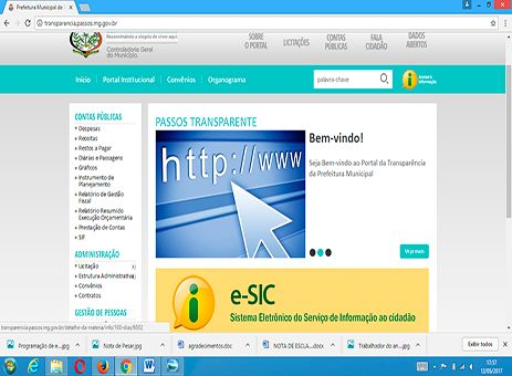 Portal da Transparência disponibiliza canais http://www.passosmgonline.com/index.php/2014-01-22-23-07-47/geral/10706-portal-da-transparencia-disponibiliza-canais