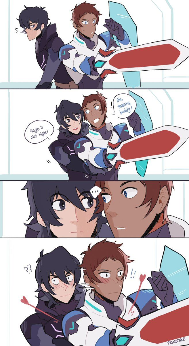 """Prin@ Voltron S5 @ March 2!!!!!! sur Twitter : """"when u haven't seen your crush for awhile and suddenly you're both s hy around each other… """""""