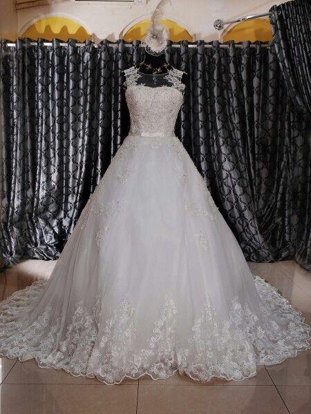 Wedding gown ekor Website www.suanggown.com