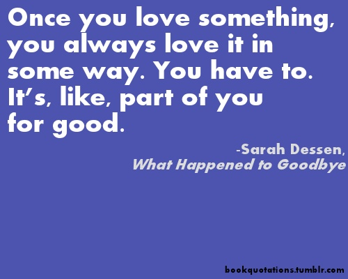 keeping the moon by sarah dessen essay Sarah dessen's what happened to goodbye tour  sarah dessen latest news updates on books,  someone like you, keeping the moon, dreamland, this lullaby,.