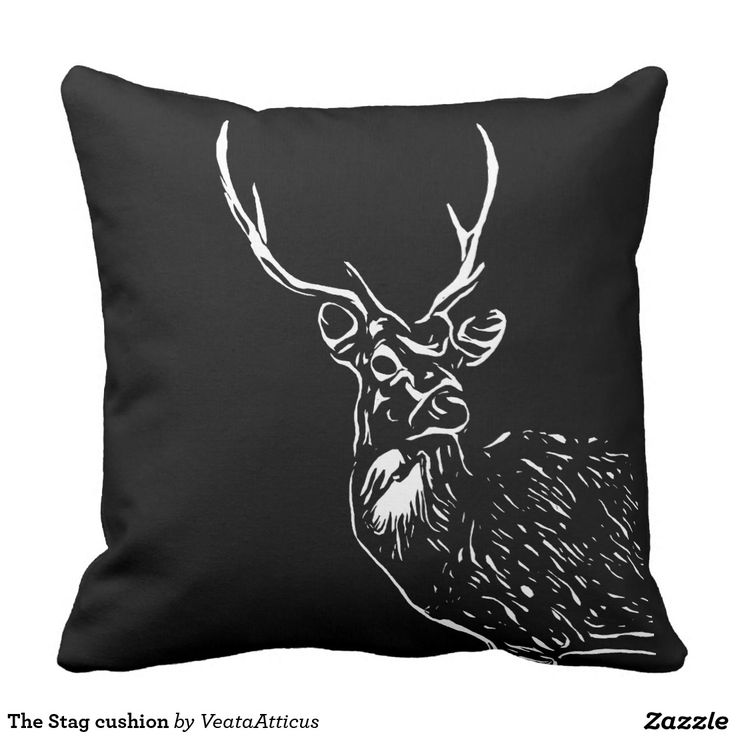 The Stag cushion