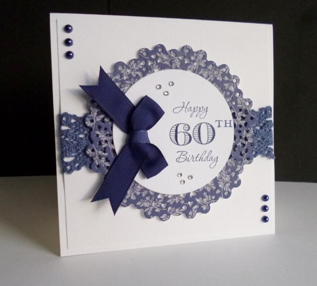 CAS358 ~ 60th Birthday by sistersandie - Cards and Paper Crafts at Splitcoaststampers