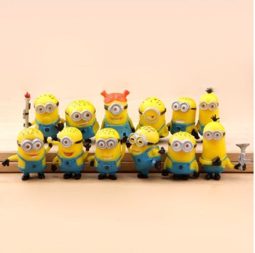 I love them!!!  New Cute Despicable Me 2 Minions Movie Character Figures Doll Toy Set of 12pcs | eBay