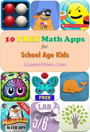 10 FREE Math Apps for Elementary School ~ Handy!