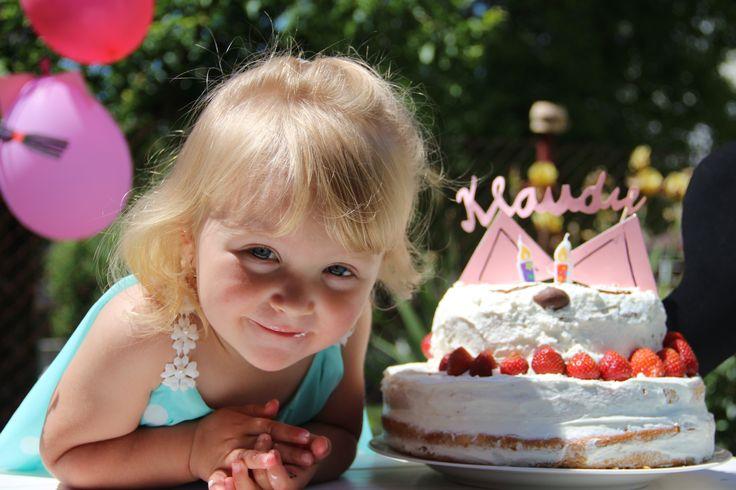 Cutest girl! Little Chloé.Second birthday