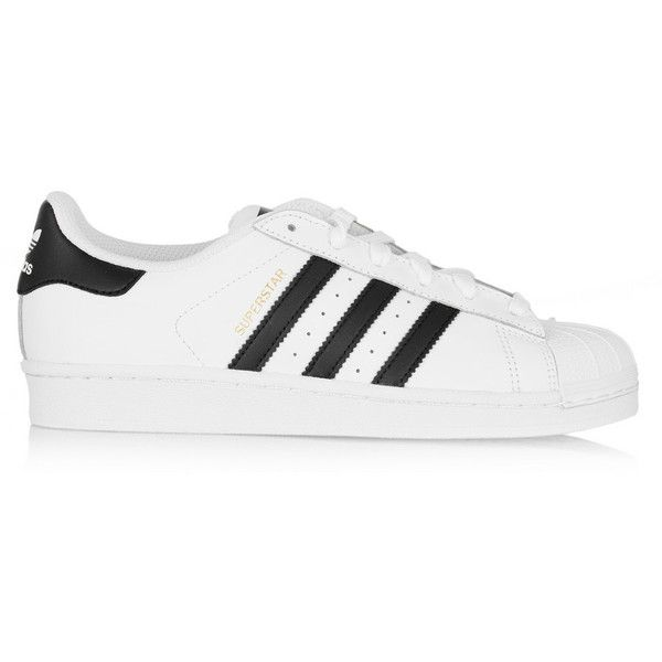 adidas Originals Superstar II leather sneakers found on Polyvore featuring  polyvore, fashion, shoes,