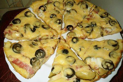 Быстрая пицца на кефире http://mysadzagotovki.ru/bystraya-picca-na-kefire/  Пицца блюдо универсальное. В ее состав могут входить разнообразные ингредиенты. Для приготовления быстрой пиццы используем кефир и традиционную начинку. Состав: майонез 4 ст. ложки, мука 9 ст. ложек,кефир 200 мл, яйца 2 шт, сыр 100 гр, колбаса 100 гр, маслины 10 шт, растительное масло 1 ч. ложка, соль. Приготовление: для теста кефир, яйца, майонез, щепотку […]
