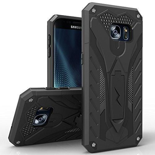 Samsung Galaxy S7 Case Zizo [Static Series] Shockproof [Military Grade Drop Tested] w/Built-in Kickstand [Galaxy S7 Heavy Duty Case] Impact Resistant