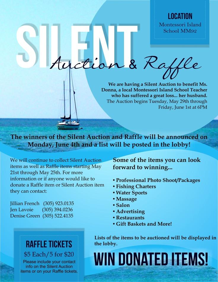 Silent Auction Flyer By Blutiki Design Studio Www