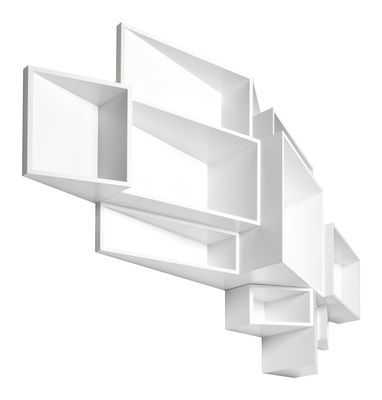 SheLLf Shelf - Large - Plain W 205 x H 122 cm - White by Kristalia - Design furniture and decoration with Made in Design