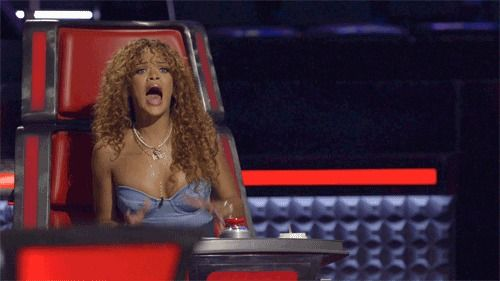 Monday marked the start of The Voice Season 9 Knockout Rounds, as well as the debut of guest mentor Rihanna.  It could have been the most shocking elimination episode since that infamous Season 2 night when Jordis Unga and Jesse Campbell went home.  Sure, it's still a mystery why Rihanna doesn't always
