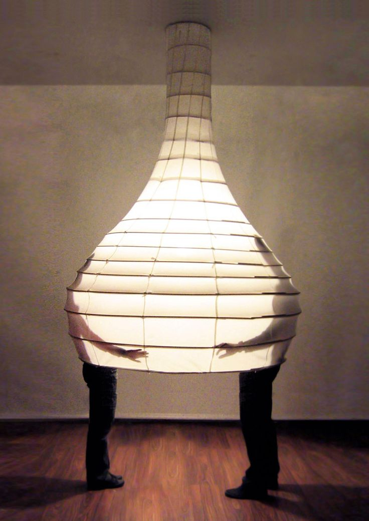 designers olivia decaris and hina thibaud, founders of french design studio DuHO, created 'social drop',   a series that is both a cocoon-like environment and a lamp. whether dining, working or sleeping,   the lamp gives users the choice to release the fabric panel, putting another layer between them and the outside.   although this changes the visual experience of the user, the sound is also affected, giving the sense of private,   internal space. used in a restaurant or office, the capsule…
