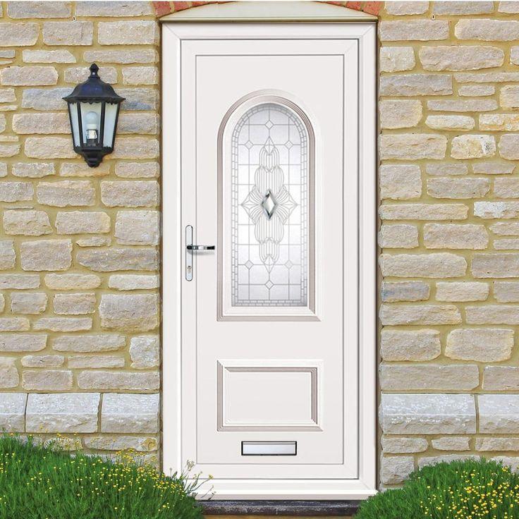 Exterior pvcu door, pvcu orrin grande door, affordable pvc doors.