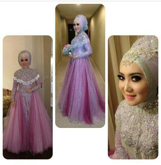 Hijab Wedding Dress by IG