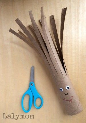Easy Beginner Scissor Practice Idea - Sammy Snip on Fine Motor Friday - The kids love to give him a haircut!
