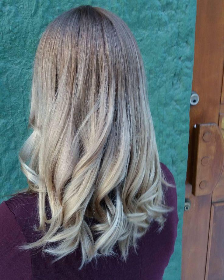 """18 Likes, 4 Comments - Parturi Kampaamo Salon 16 (@hik.salon16) on Instagram: """"#salon16 #lahti #hyvän #ilman #parturi #kampaamo #hairsalon #balayage #simsensitive #sim #haircolor…"""""""