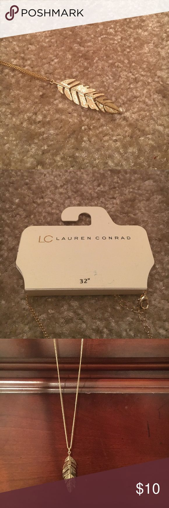 """Lauren Conrad 32"""" gold necklace Long gold necklace from Lauren Conrad's collection LC Lauren Conrad Jewelry Necklaces"""