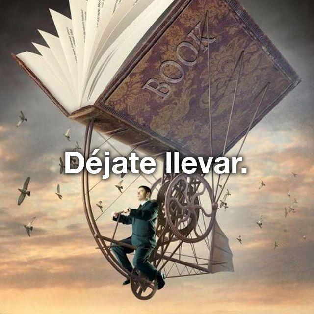 Los libros nos transportan a muchos lugares. Lee más con el curso de www.openbook.mx #Imaginación #Fantasía
