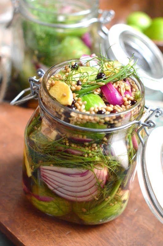 // Green Tomato Pickles
