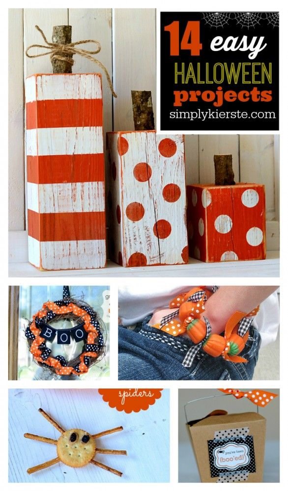 Looking for Easy Halloween Projects? Here are some of my favorites, including free printables, decor, family traditions, and more!