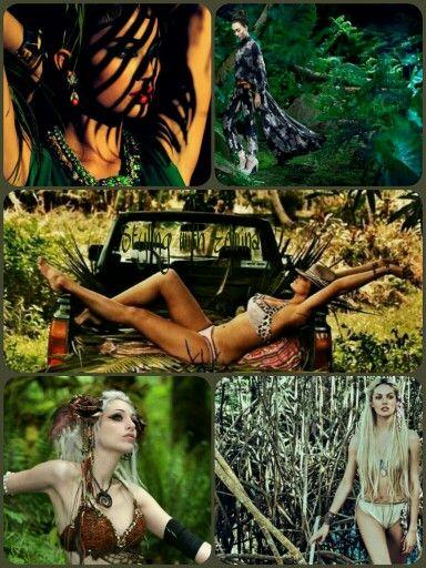 Jungle Photoshoot