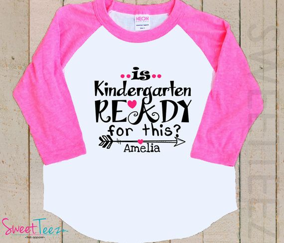 Kindergarten Shirt Hip Arrow Shirt Is Kindergarten by SweetTeezLLC