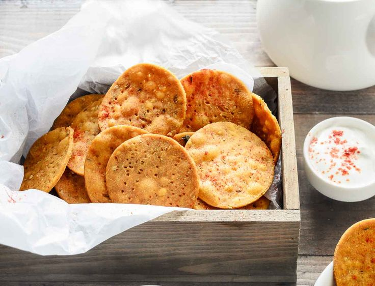 Make this masala mathri when planning to travel. These are crispy deep fried snacks seasoned with spices and are easy to make. Munch them to quickly satisfy your hunger while travelling. Recipe by Farrukh.  --> http://ift.tt/1JeXHTM #Vegetarian #Recipes