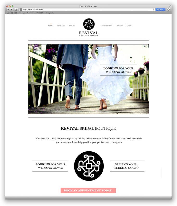 Revival Bridal Lounge | Web Design Portfolio | Other Industries | Toronto | Richmond Hill | North Toronto | www.magentadesign.ca