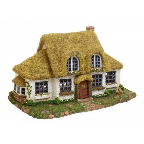 Found it at Wayfair - Woodland Knoll Large Fairy English Cottage Statue                                                                                                                                                                                 More
