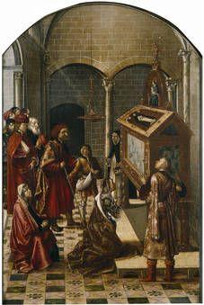Sepulcro de San Pedro Martir, (1493-1499) por  Pedro Berruguete (1450-1504)
