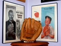Collectors Showcase Room Mickey Mantle Phillies Cigars Display