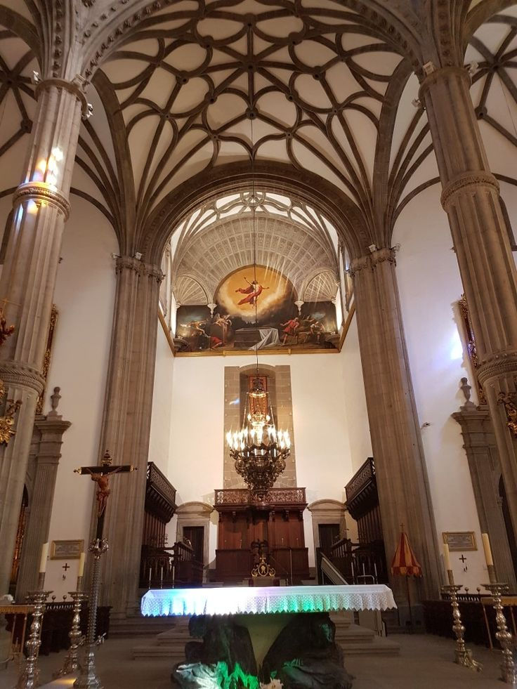 Inside Cathedral of Santa Ana in Las Palmas