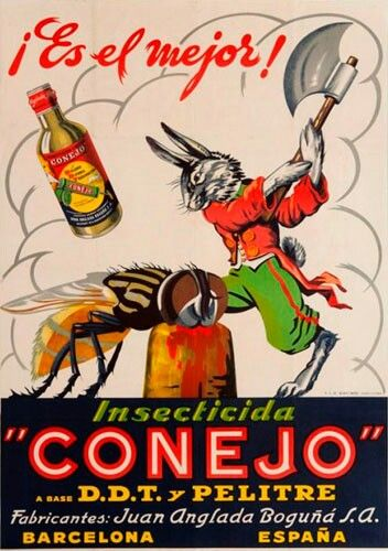 """DDT and Pelitre """"Conejo is the best!"""""""