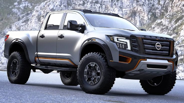 New Nissan Titan Warrior 2017
