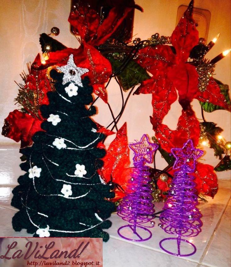 Albero di Natale ad Uncinetto