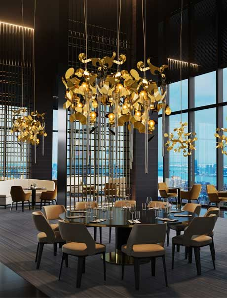 Brand van egmond designs and crafts high en interior design lighting products for luxury interior designs high end hospitality projects exclusive