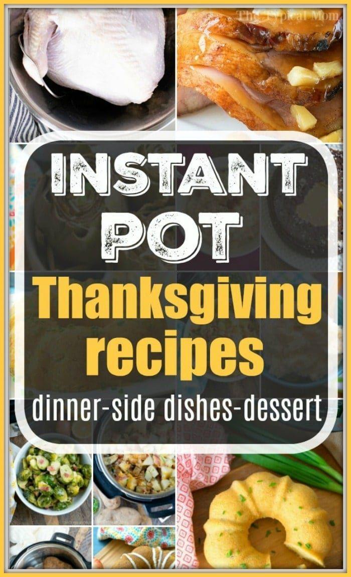 Instapot Christmas 2020 Instapot thanksgiving recipes #instapot #thanksgiving #recipes