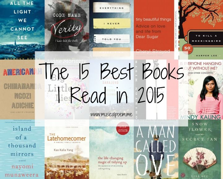 15 Best Books I Read in 2015