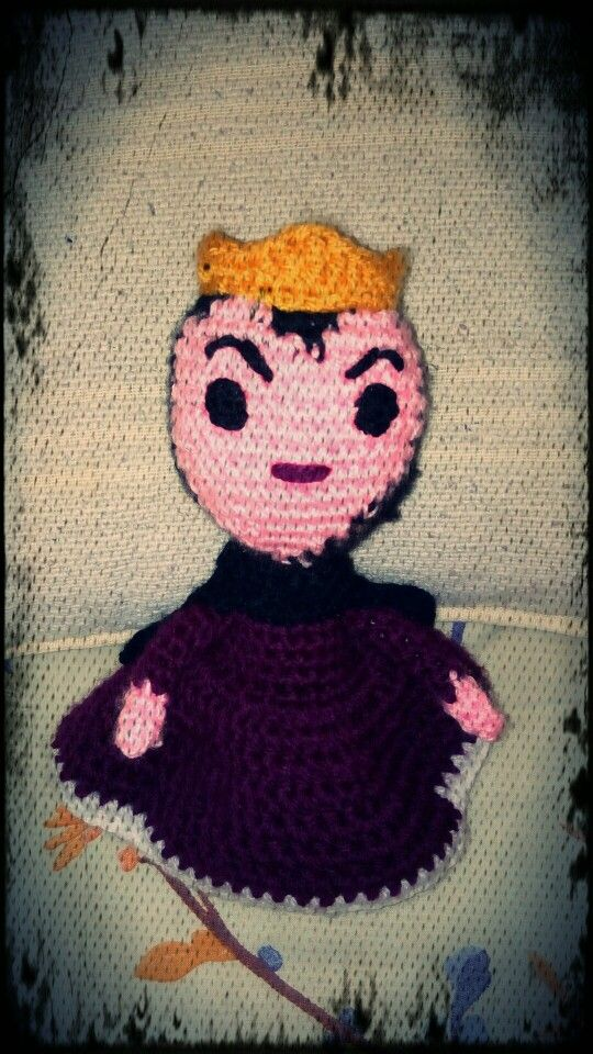 #Grimhilde #QueenofSnowWhite #crochet #ganchillo