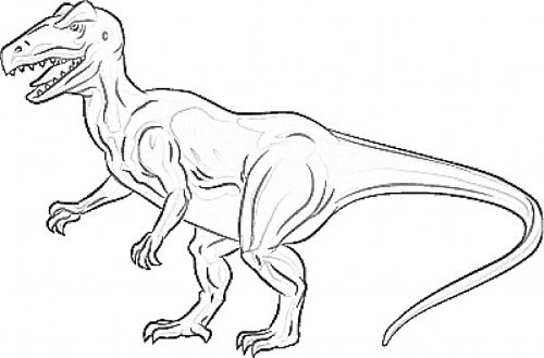 allosaurus coloring pages - photo#24