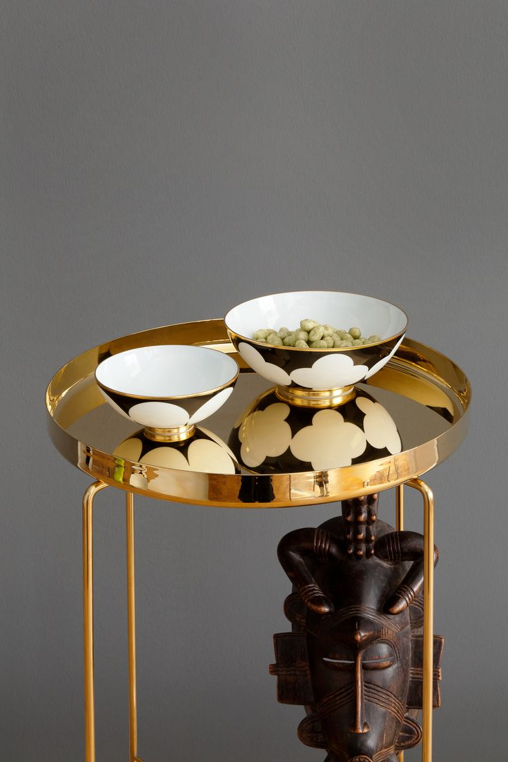 Sieger by Furstenberg Ca' d'Oro tableware #monochrome #geometrics