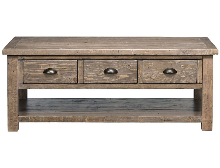 Slumberland Slater Mill Collection Pine Coffee Table