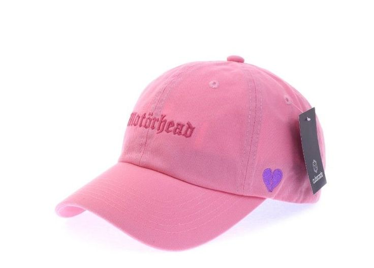 Moter Head Pink Ball Cap - Baseball Cap / Casual Cap / Couple Cap / Student Cap #Unbranded #Simple