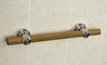 Great Grabz Teak Signature Bar - eclectic - Bath Products - Other Metro - Abbie Joan Fine Living