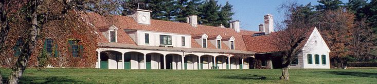 the Stables at the Former Knox Estate in East Aurora NY, currently the Knox Farm State Park