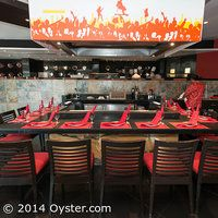 Zen Restaurant Teppanyaki Table At The Hard Rock Hotel Cancun