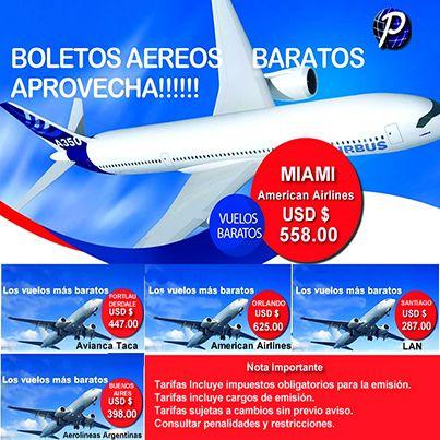 BOLETOS AEREOS BARATOS APROVECHA  #Miami American Airlines #agenciadeviajes #viajes #agenciadeviajesenlima #peruviantravel #peruvian #turismo #ocio #tours #paquetesturisticos #pasajesbaratos #pasajesaereos #tickets #boletosaereos Consultas: Central telefónica: (511) 242-7309 | (511) 242-1741 E-mail: escribenos@peruviantravelservice.com Ó visítenos en la Página web: www.peruviantravelservice.com/cotizapasajes.htm